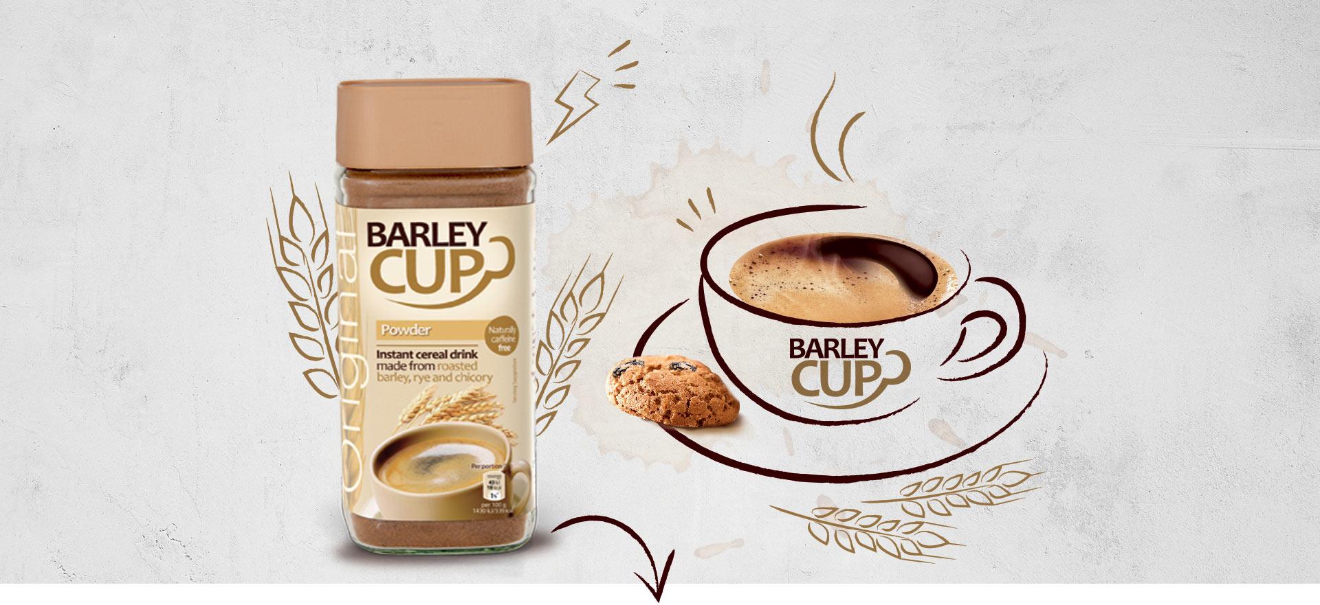 Barleycup in powder