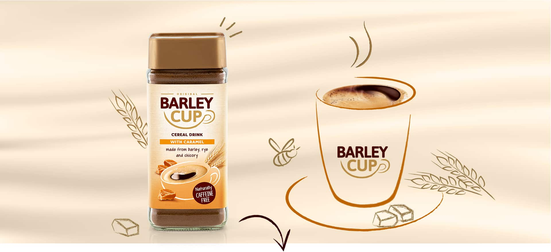 Barleycup with Caramel
